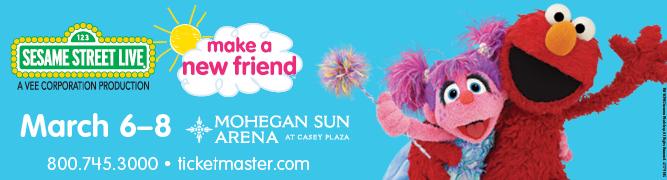 Sesame Street Live at Mohegan Sun Arena!