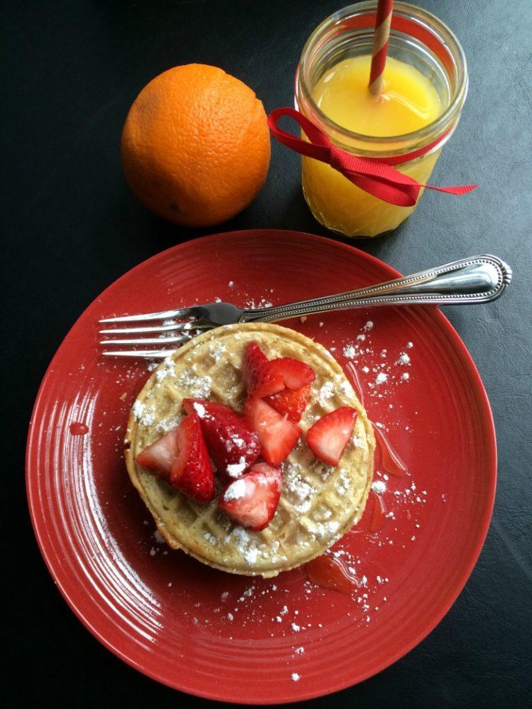 Healthy breakfast with EGGO