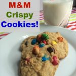 M&M's® Crispy Cookies–a Yummy and Easy Treat!