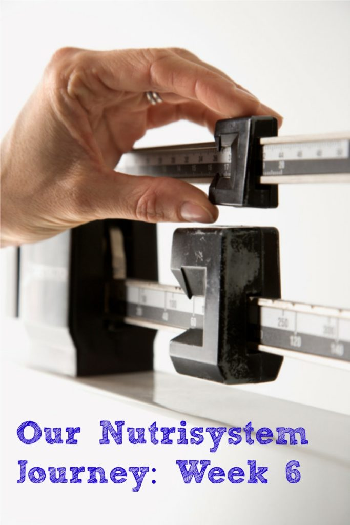 Our Nutrisystem Journey Week 6