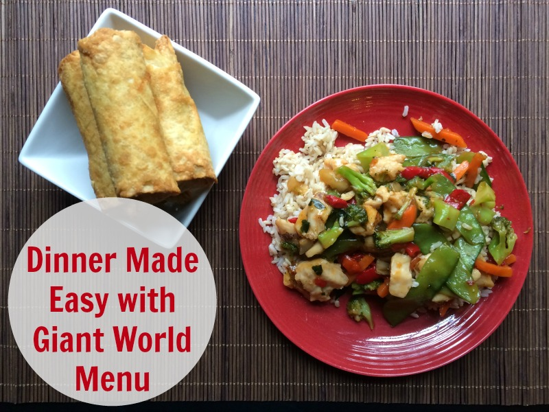 Dinner Made Easy with Giant World Menu