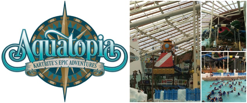 Aquatopia Waterpark at Camelback Lodge in the Pocono Mountains! Your newest family friendly destination in NEPA!