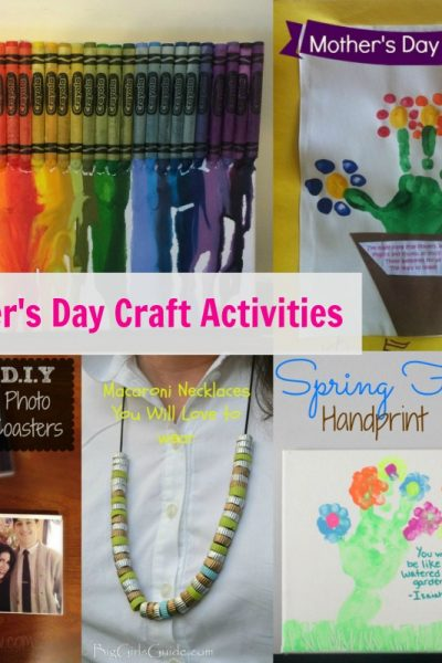 Mother's Day Craft Activities