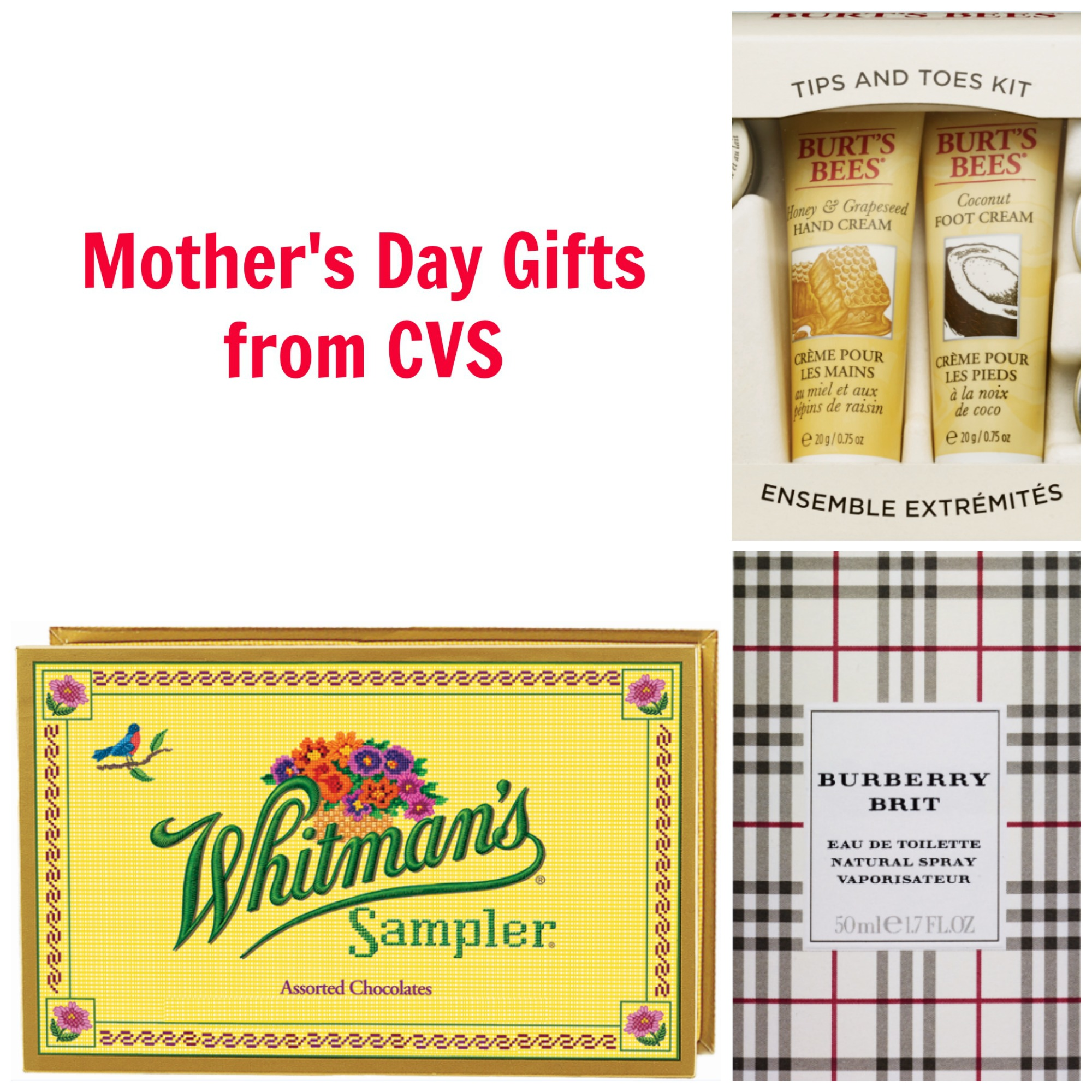 Mother's Day Gifts from CVS Collage #ad