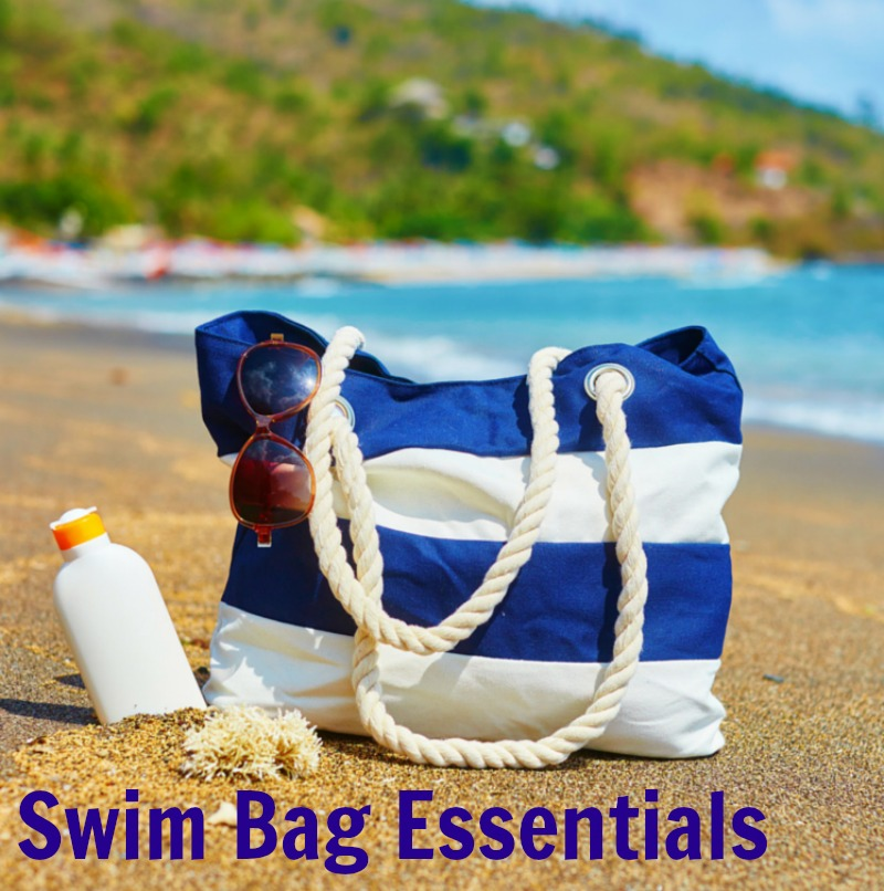 Swim Bag Essentials--ready to grab and go on a moments notice!