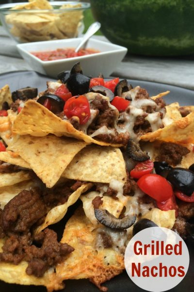 Grilled Nachos–My newest obsession!