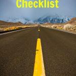 Summer Road Trip Checklist–Get ready for some fun!