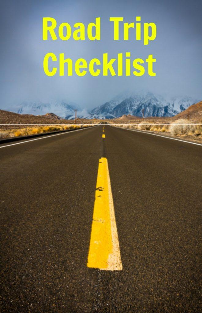 Road Trip Checklist #FueltheFun #ad