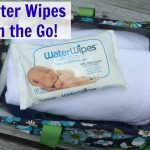 Staying fresh while on the go with WaterWipes!
