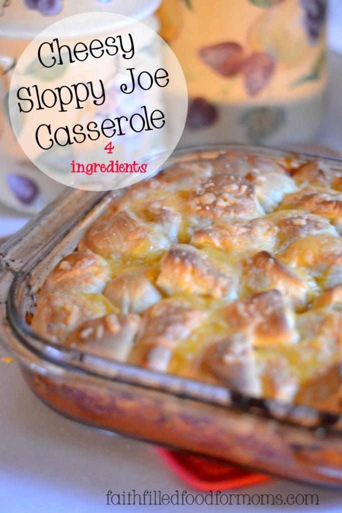 Cheesy-Sloppy-Joe-Casserole