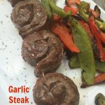 Garlic Steak Pinwheels and Grilling Effiency