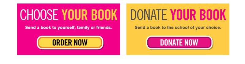 Chose Your BooksDonate Your Book  #Back2SchoolReady #ad