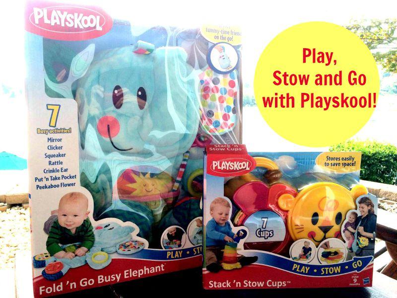 Play, Stow and Go with Playskool #PLAYSKOOLCREW