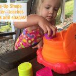 PLAYSKOOL Pop-Up Shape Sorter is fun on the go!