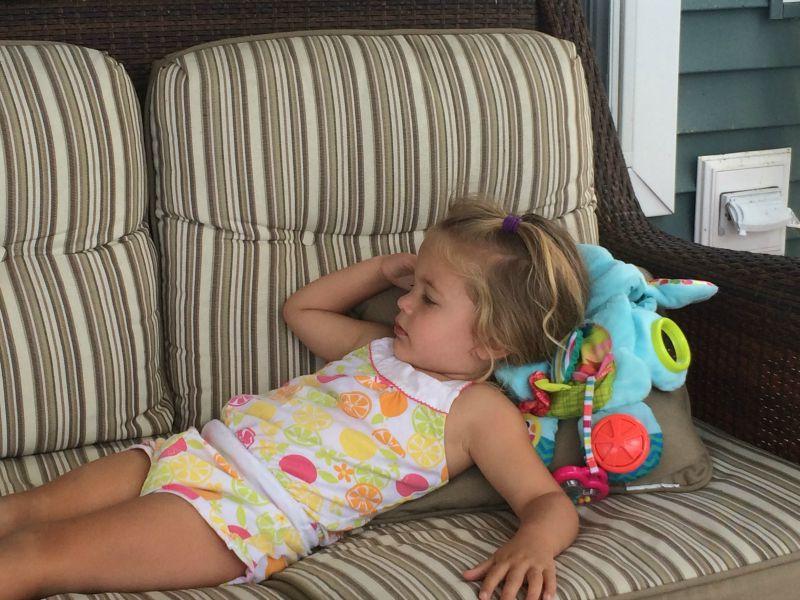 Resting with Busy Elephant #PLAYSKOOLCREW
