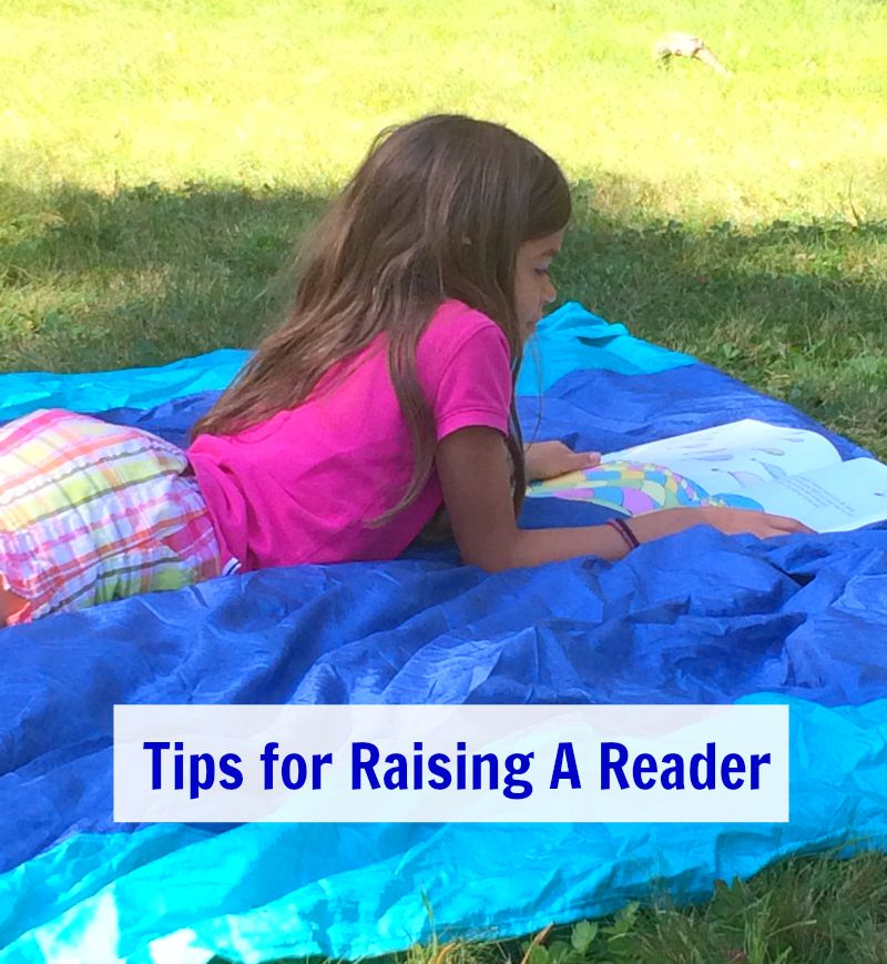 Tips for Raising a Reader #Back2SchoolReady #ad