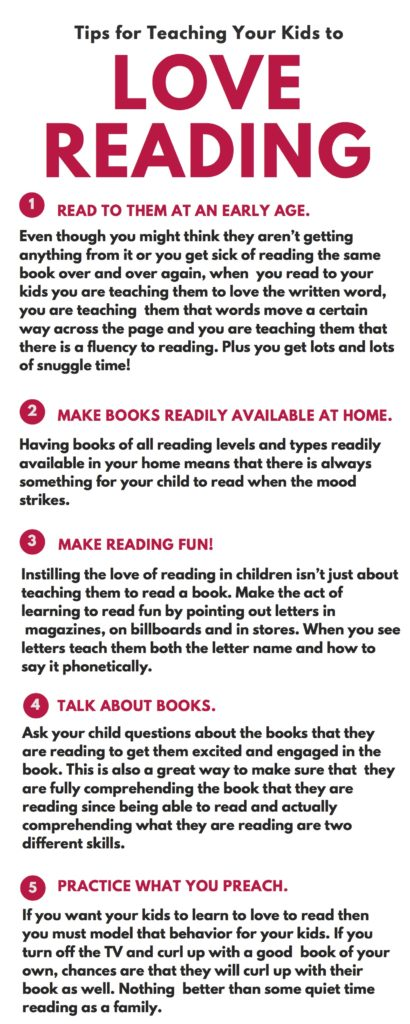 Tips for Teaching Your Kids to Love Reading  #Back2SchoolReady #ad