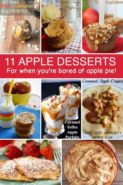 11 Apple Recipes for Dessert