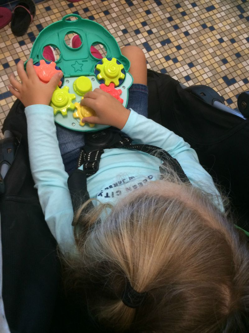 Roll'n Gears is perfect for playing in the Stroller #PLAYSKOOLCREW