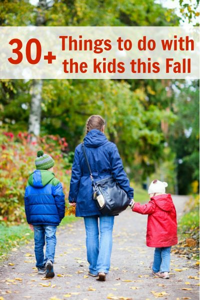 Fall Bucket List–30 + Things to do with the Kids Printable
