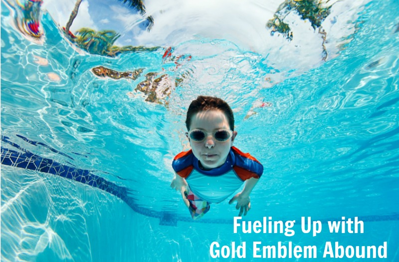 Fueling up with Gold Emblem Abound #CVSBacktoSchool #ad
