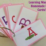 Homemade Flash Cards–Get Crafty with ZINK!