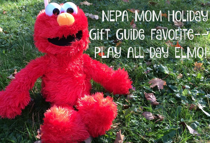 Holiday Gift Guide Favorite--Play All Day Elmo #ad #PLAYSKOOLCREW