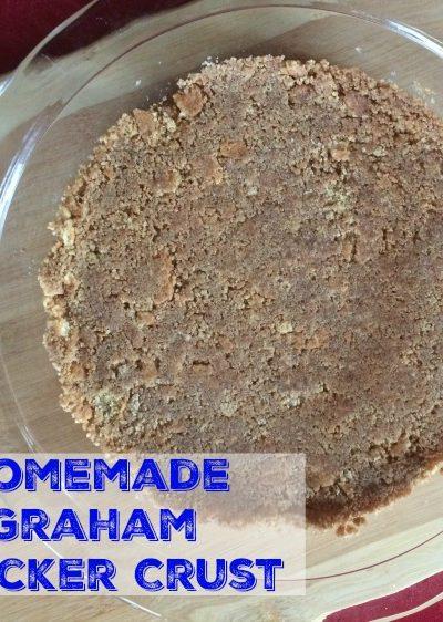 Easy, Homemade Graham Cracker Crust