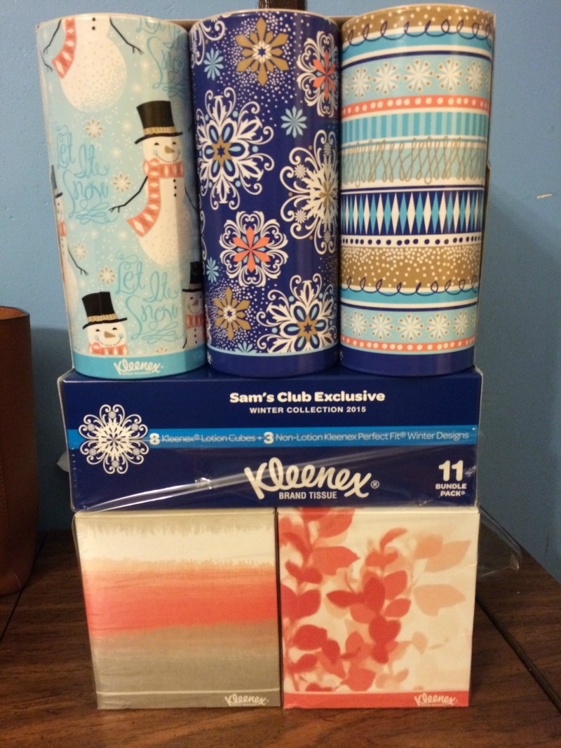 Kleenex New Fun Winter Designs #ad #SpreadKleenexCare