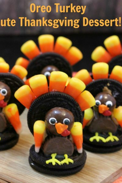 Oreo Turkey–Cute Thanksgiving Dessert!