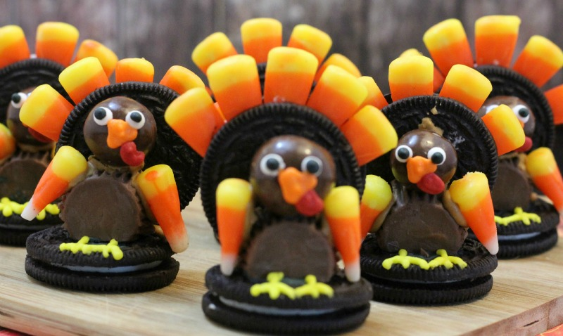 Oreo turkey end result