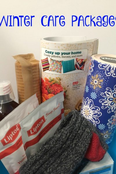 Winter Care Package with Kleenex Winter Pack