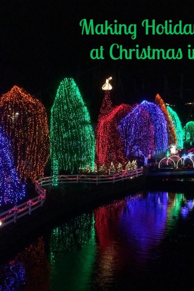 Making Family Memories at Christmas in Hershey