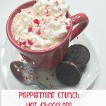 Peppermint Crunch Hot Chocolate