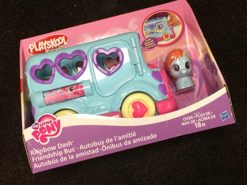 Rainbow Dash Friendship Bus #ad #PLAYSKOOLCREW