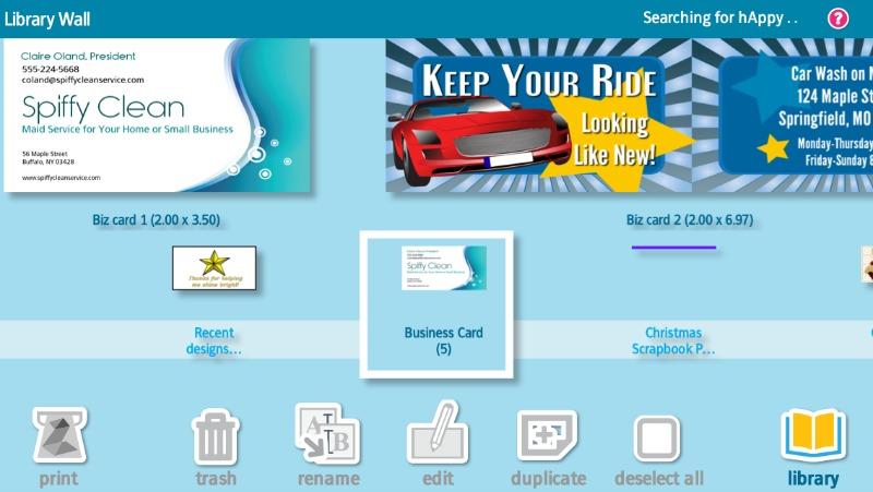 ZINK Business Card design #ad