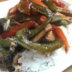 Chicken and Pepper Stir Fry