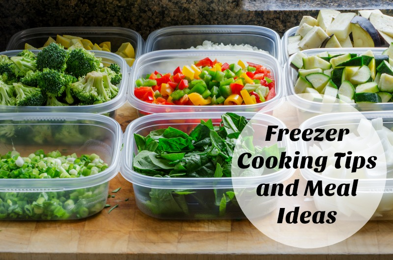 Freezer Cooking Tips and Meal Ideas