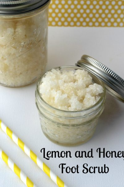 Lemon and Honey Foot Scrub