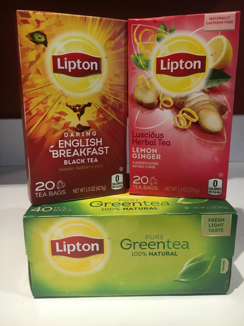 New Lipton Tea is perfect any time of day #LiptonTeaTime #Sponsored