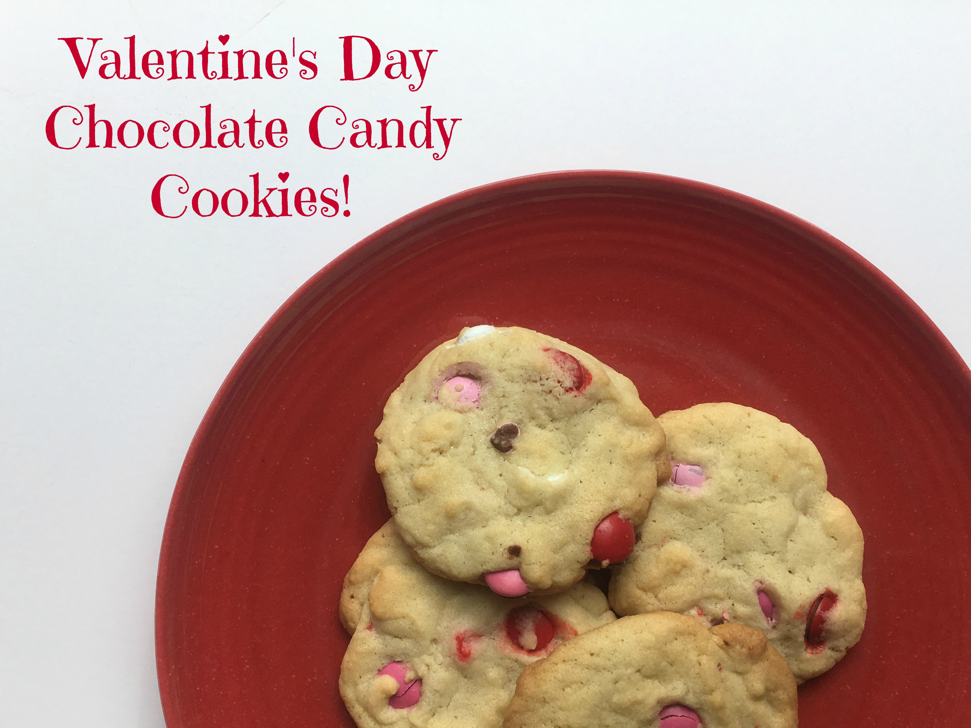 Valentine's Day Chocolate Candy Cookies