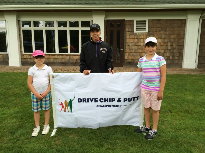 Drive, Chip and Putt #JustAKidFrom, #spon