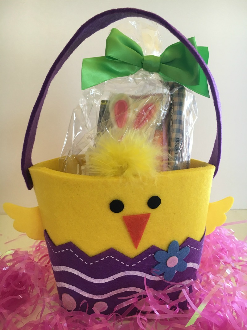 Lil'Easter Tote from Gertrude Hawk #ghawkeaster