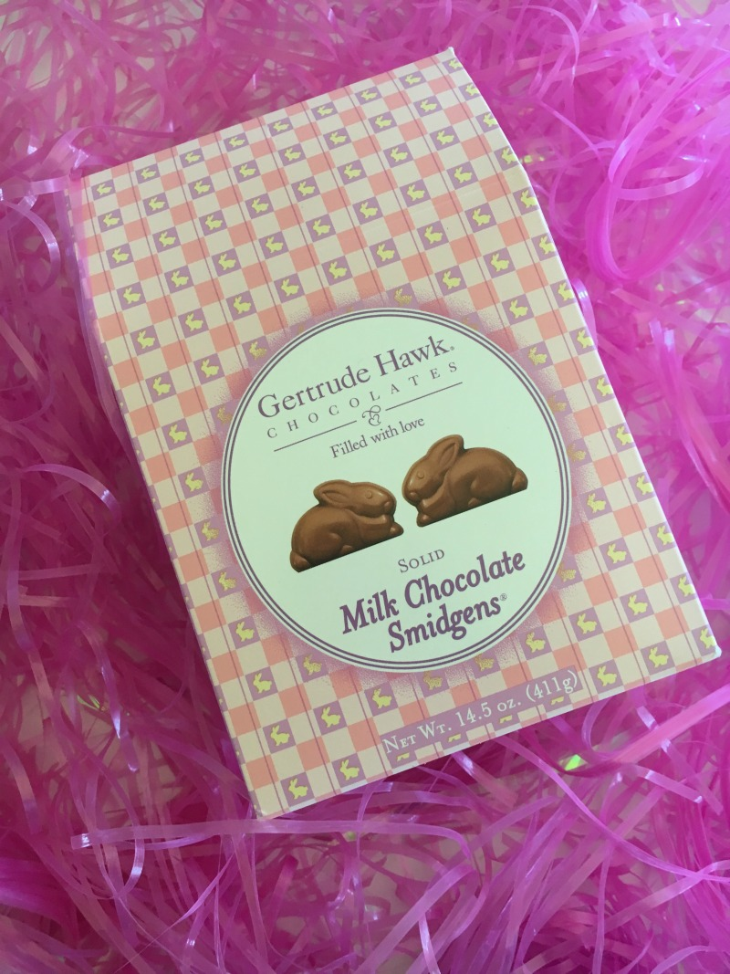Milk Chocolate Smidgens from Gertrude Hawk #ghawkeaster