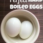 Hard Boiled Egg Recipe