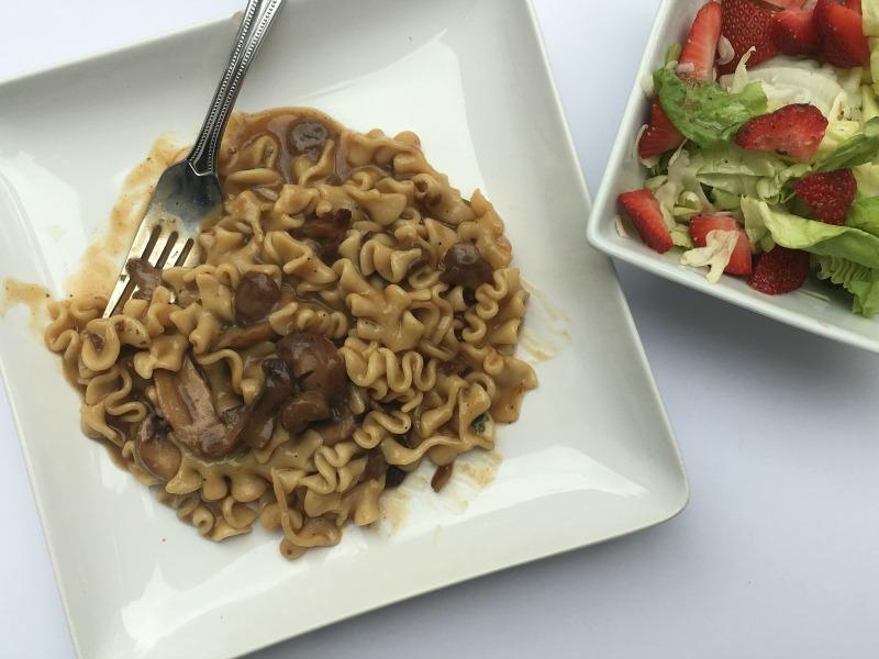 Vegetarian Portabella Mushroom Marsala #LiveHealthyChoice #ad