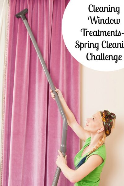 Cleaning Your Window Treatments