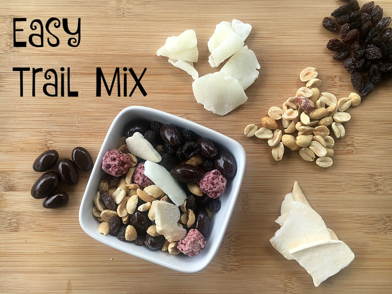 Easy Trail Mix recipe #CVS #CVSSpringSnacking