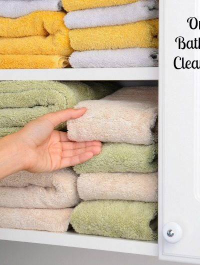 Organize Your Bathroom–Spring Cleaning Challenge