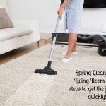 Spring Clean Your Living Room